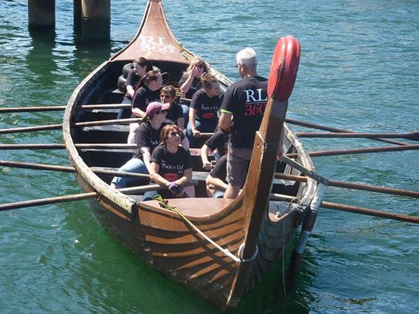 RL360 Viking Longboat team