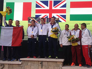 Team GB - European Championships in Lonato, Italy